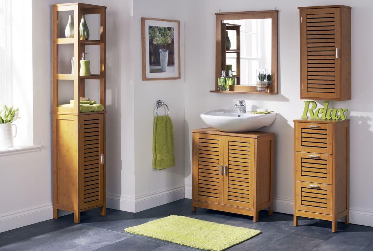 Мебель для ванной комнаты 2017: стильные решения и оригинальные дополнения