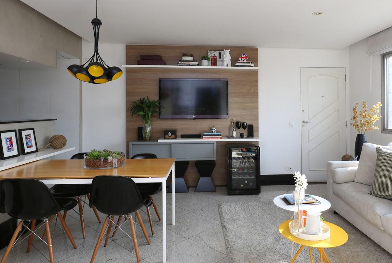 Дизайн однокомнатной квартиры студии 30 кв