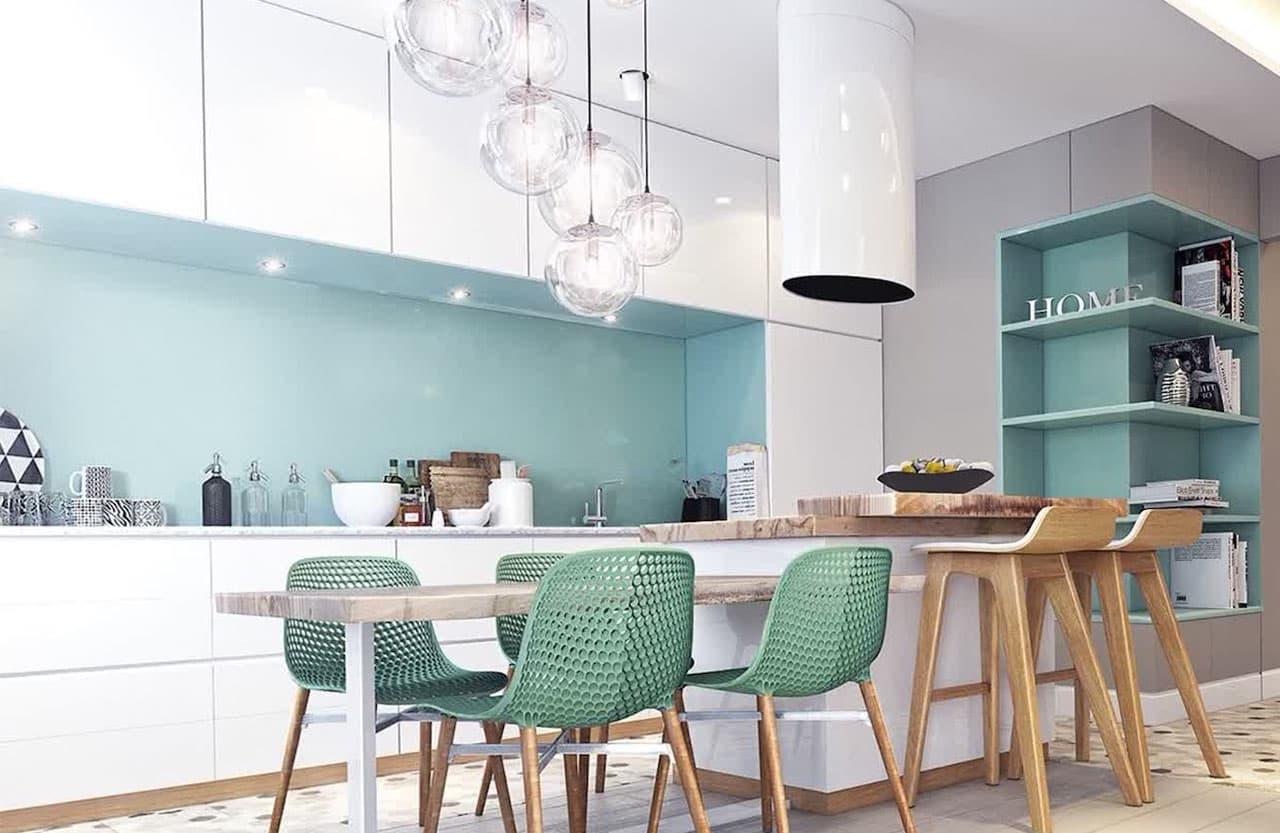 дизайн кухни 2018 фото современных идей