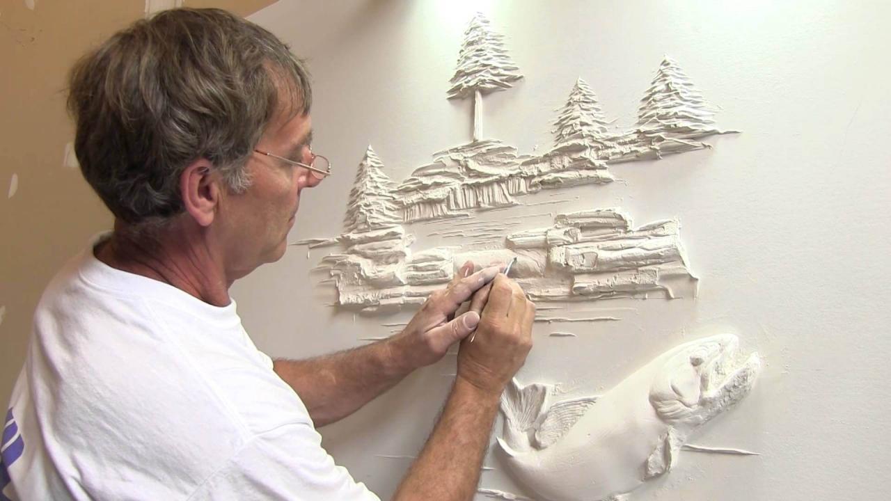 Гипсовые шедевры: удивительные творения Берни Митчелла