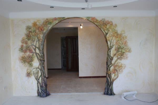 Без дверей: 30 вариантов дверных проемов для квартиры