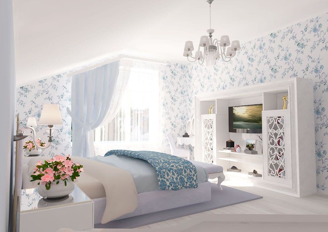 5 обязательных предметов для спальни в стиле прованс