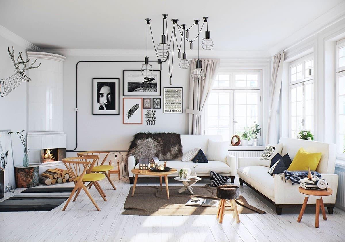 6 правил идеальной гостиной