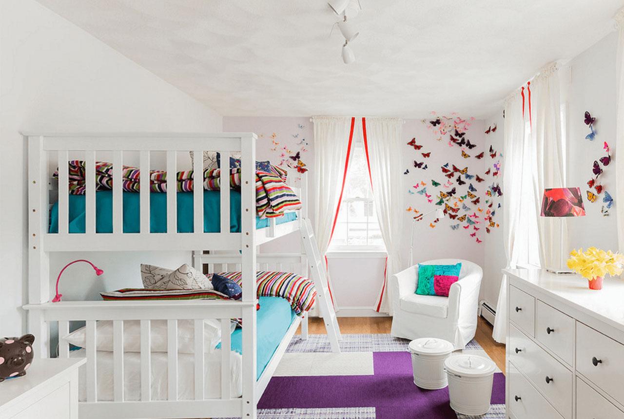Дизайн детской комнаты для девочки — 30 фото идей обустройства интерьера