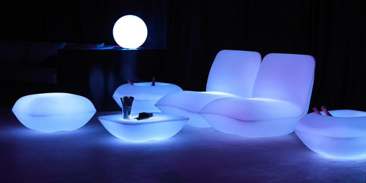 Светодиодная подсветка в интерьере – стильно и оригинально