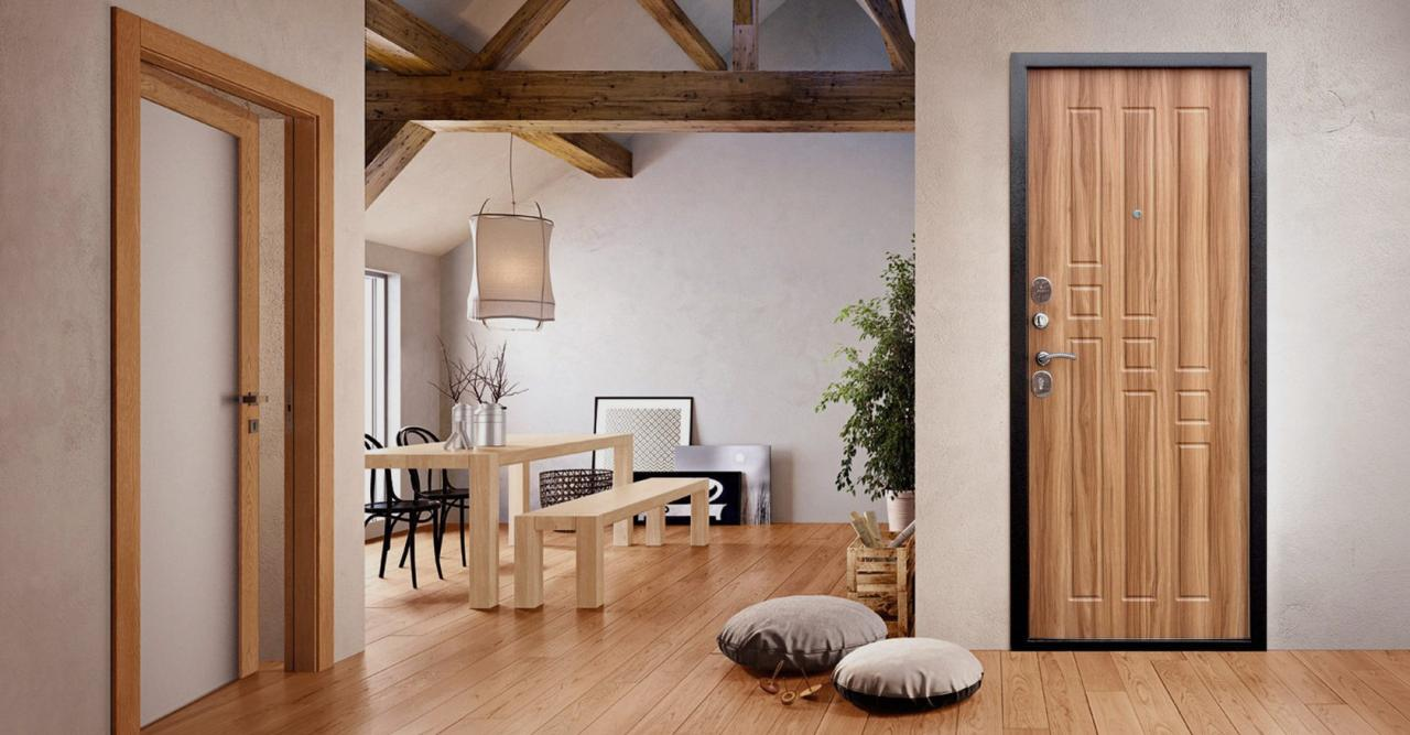Как выбрать и где купить входные металлические двери