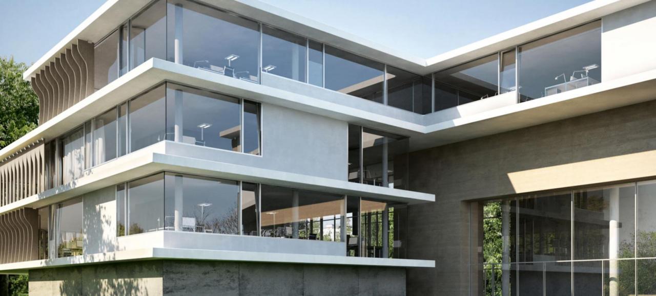 Остекление фасадов: эстетика и энергоэффективность