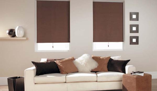 Деревянные рулонные шторы – фото 2