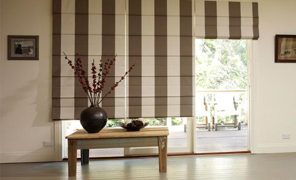 Деревянные рулонные шторы – фото 3