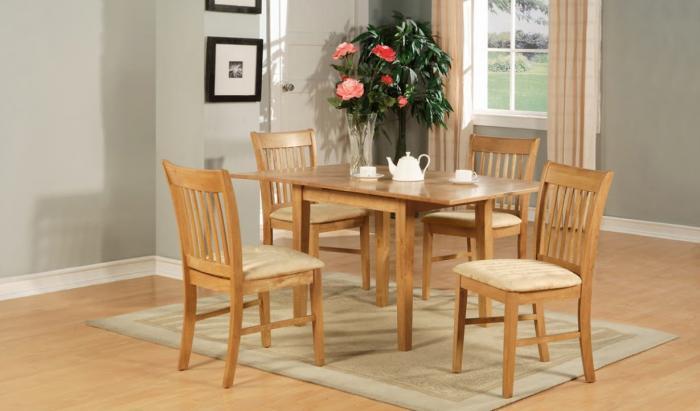 Деревянные столы – фото 1