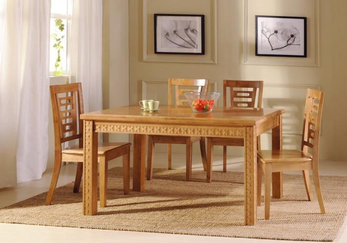 Деревянные столы – фото 2