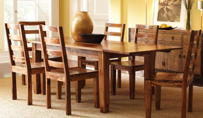 Деревянные столы – фото 3