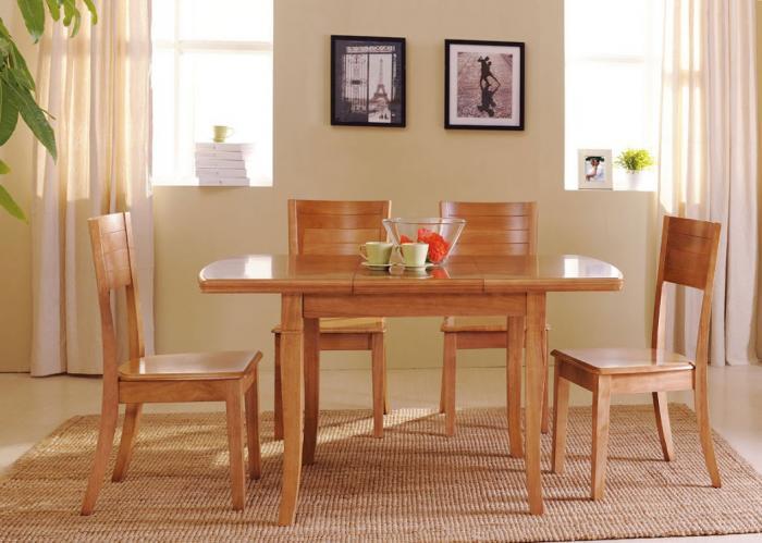 Деревянные столы – фото 5