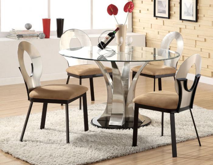 Стеклянные столы – фото 1
