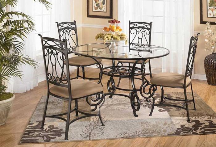 Стеклянные столы – фото 2