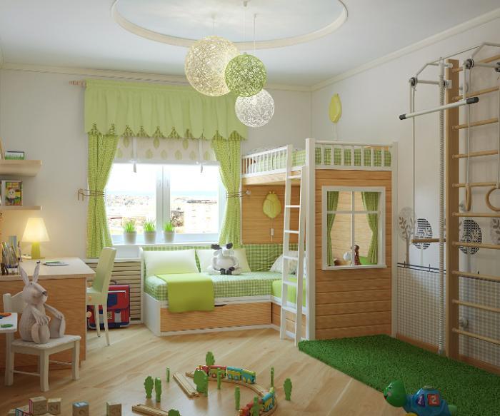Планировка комнаты для девочки