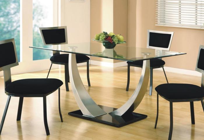 Стеклянные столы – фото 3