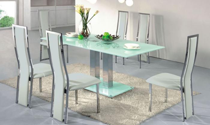 Стеклянные столы – фото 5