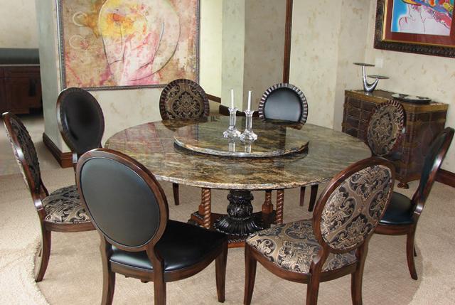 Каменные столы – фото 3