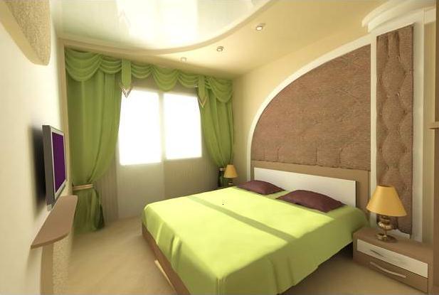 Дизайн маленькой спальни 20