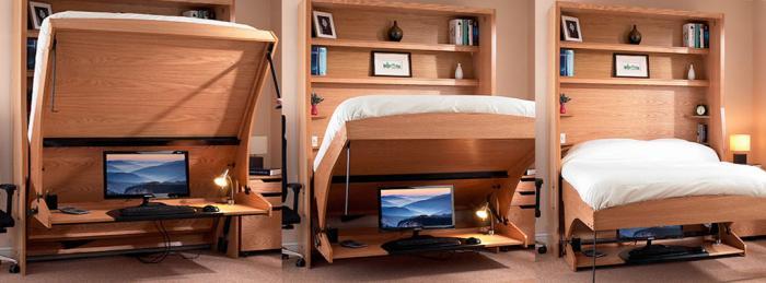 Стол-трансформер для спальни – фото 4