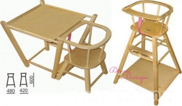 Стол-трансформер для детской – фото 1