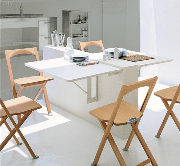 Стол-трансформер для кухни – фото 10