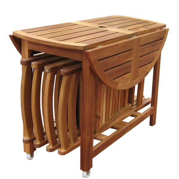 Стол-трансформер для кухни – фото 11