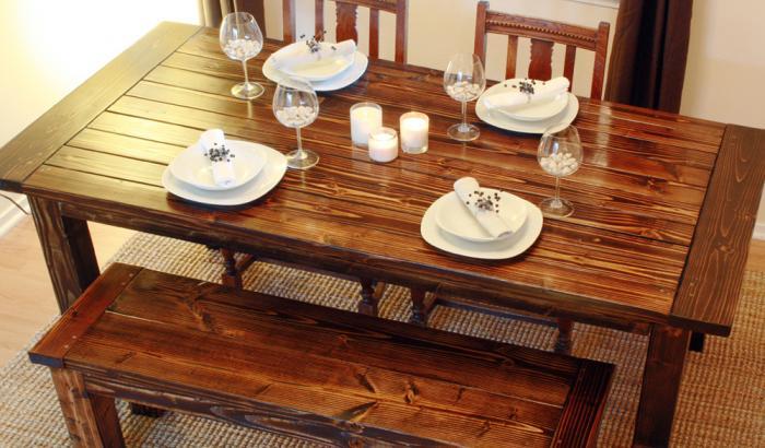 Обеденный стол – фото 2