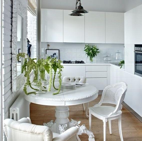 Кухонные столы для маленькой кухни – фото 1