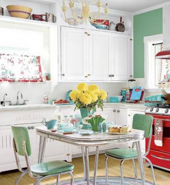 Кухонные столы для маленькой кухни – фото 3