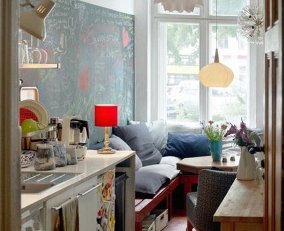Кухонные столы для маленькой кухни – фото 4