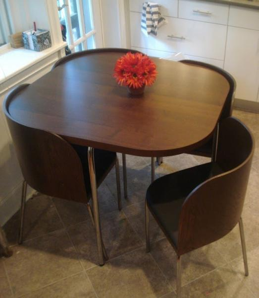 Кухонные столы для маленькой кухни – фото 6