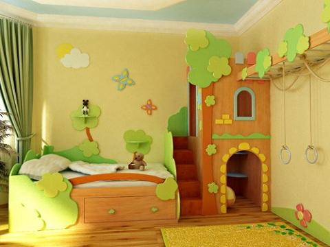 Handmade детской комнаты 2