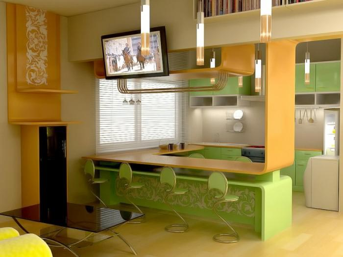 Создание дизайна кухни