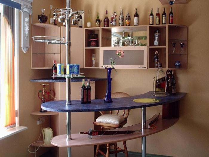 Как сделать барные стойки для дома