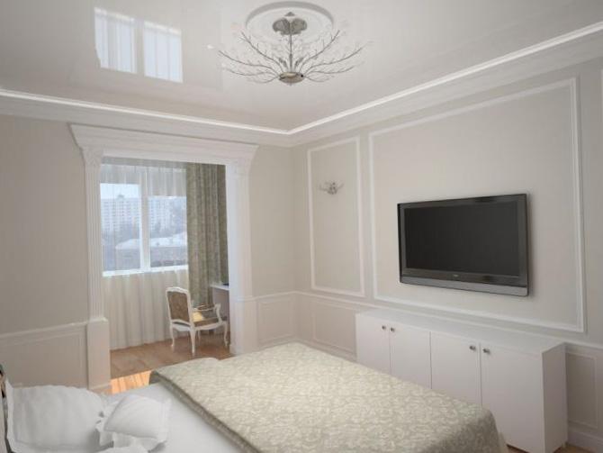 Спальня, объединенная с балконом или лоджией - фото 1