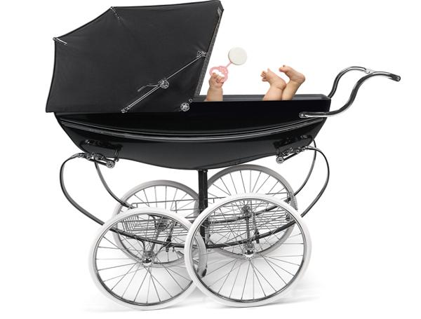 Классическая коляска - 4