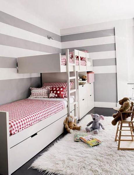 Как расставить кровати в детской 3