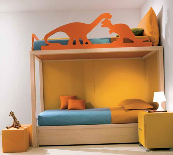 Комната для двух детей разного возраста 2