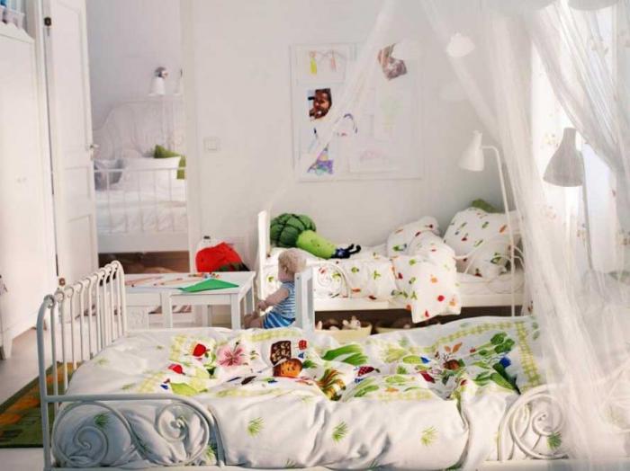 Комната для двух детей разного возраста 4