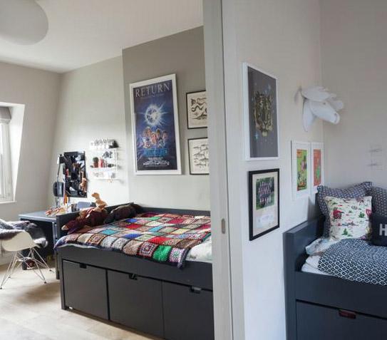 Планировка для комнаты 18 кв.м 2