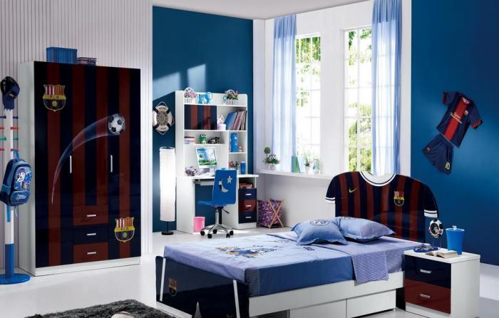 Комната дизайн для мальчика