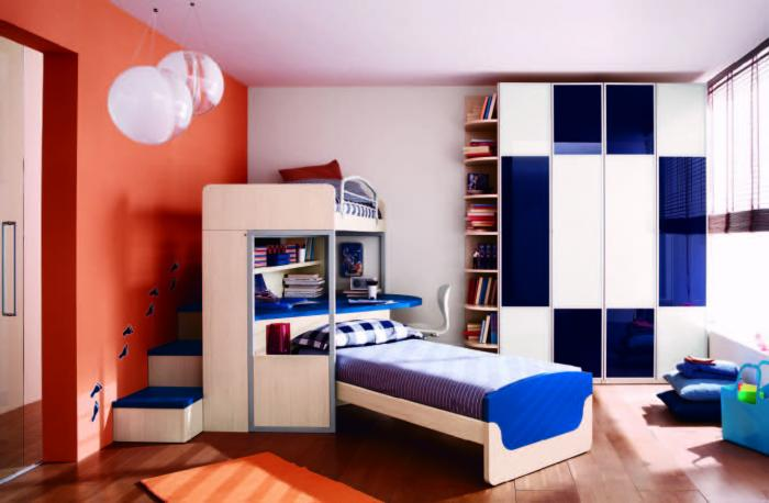 Комната для мальчика 11-12 метров