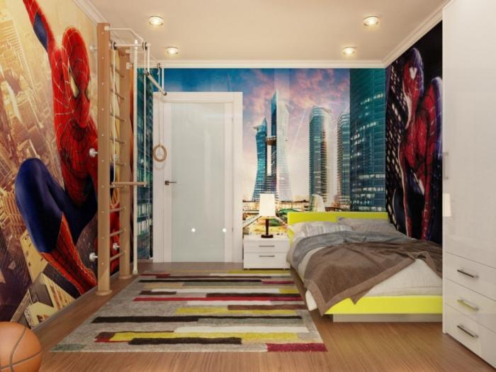 Комната для мальчика в стиле хай-тек