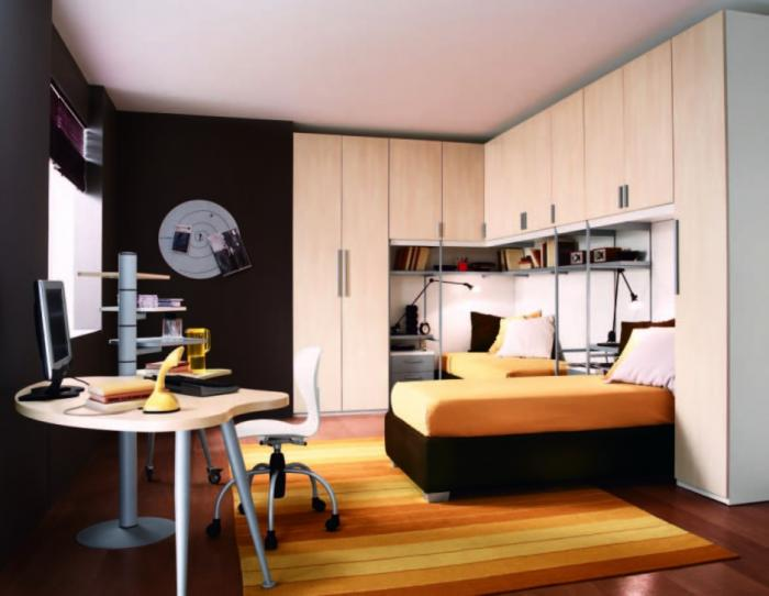 Комната для мальчика в стиле минимализм