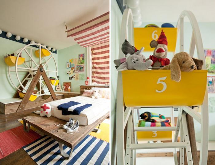 Фото детской комнаты для мальчика 3-5 лет