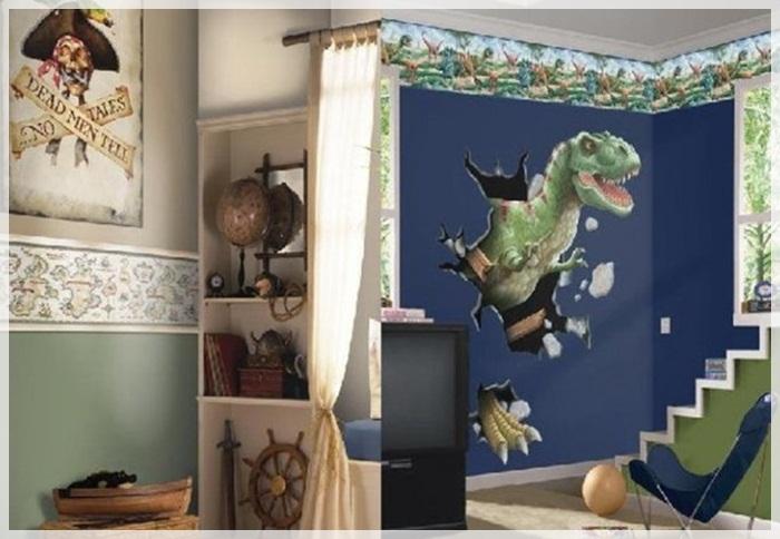 Дизайн детской комнаты для мальчика: фото интерьера спальни для подростка