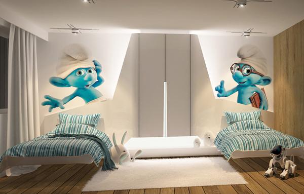 Мебель для двух малышей: фото 1