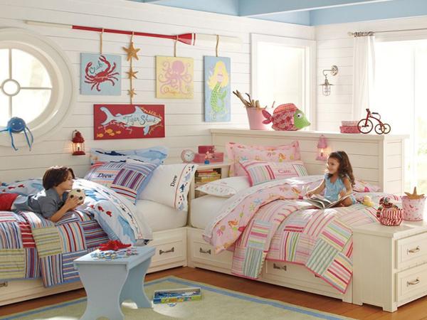 Кровати для двух разнополых детей - 5